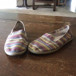 ✨2 for $20✨ Striped slip ons